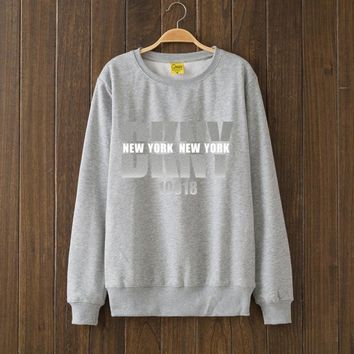 Dkny Fashion Casual Top Sweater Pullover-1