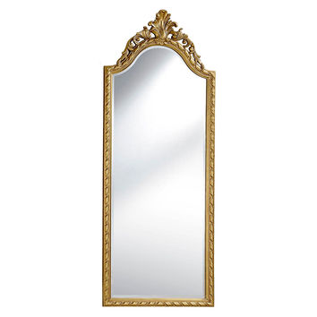 Mirrors, Brownstein Floor Mirror, Gold, Floor Mirrors
