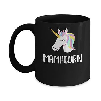 Unicorn Mom And Baby Mamacorn Mama Mother Day Gift Mug