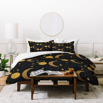 Morgan Kendall my moon and stars Duvet Cover