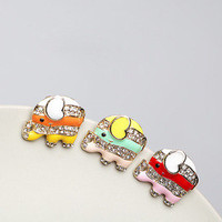 Bestgoods — Cute Elephant Anti Dust Plug Cover Charm For Iphone 4/4s
