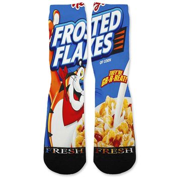 Frosted Flakes Custom Athletic Fresh Socks
