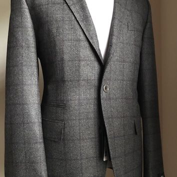 NWT $695 Boss Hugo Boss 'Johnstone2' Jacket Blazer Reda Super 110 48R US
