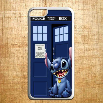 tardis lilo stitch for iphone 4/4s/5/5s/5c/6/6+, Samsung S3/S4/S5/S6, iPad 2/3/4/Air/Mini, iPod 4/5, Samsung Note 3/4, HTC One, Nexus Case*PS*