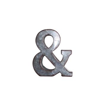 Letter & Metal Wall Decor | 3D Wall Letters Farmhouse Decor | Galvanized