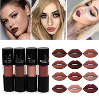 Brand Makeup Makeup Sexy Full Lip Tattoo Long Lasting 12 Color Pigments Red Brown Nude Velvet liquid Matte Lipstick Lip Kit Mat