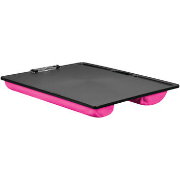 LAPGEAR 45106 Jumbo Student LapDesk with Clip (Pink)