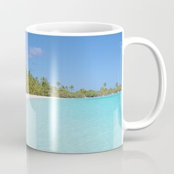 Tropical beach Mug by PRODUCTPICS