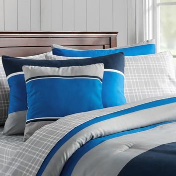 Sport Stripe Bedding Set