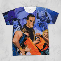Art of Fighting Unisex Video Game Sublimation T-shirt