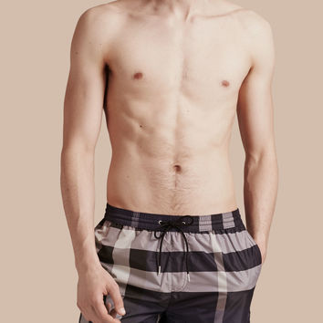 Check Swim Shorts Ink | Burberry