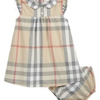 Infant Girl's Burberry 'Davina' Dress,