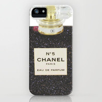 Black Chanel iPhone Case by Sheena Mohammadi