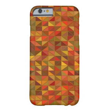 Retro Geometric Pattern iPhone 6 Case