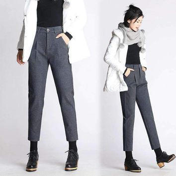Womens Woolen Pants