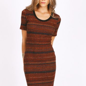 Slow Drift Striped Dress