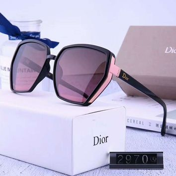 DIOR Newest Fashionable Women Men Summer Sun Shades Eyeglasses Glasses Sunglasses 5#