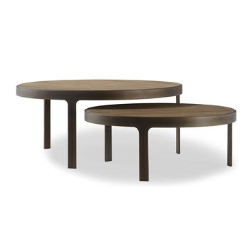 Brownstone Furniture Laguna Nested Coffee Tables