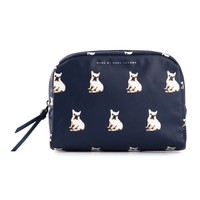 Marc By Marc Jacobs Dog Print Cosmetics Case