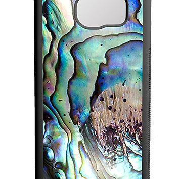 Abalone Shell Samsung Galaxy S7 Case Black