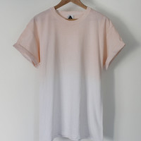 ANDCLOTHING — Orange Fade Dip Dye Tee