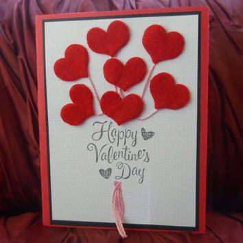 Valentine's Day Card - Red Heart