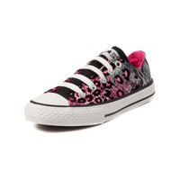 Youth Converse All Star Lo Leopard Athletic Shoe, Multi  Journeys Kidz