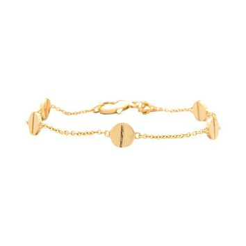 Gorjana Chaplin Bracelet in Metallic Gold