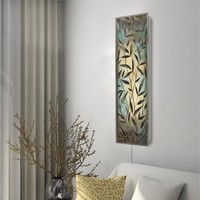 Bamboo Silhouettes II Wall Sconce Light (8813) - Illuminada