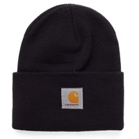 Carhartt Acrylic Watch Hat - Black - Caps & Hats - Accessories | Shop for Men's clothing | The Idle Man