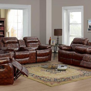 Classic Reclining Living Room Set