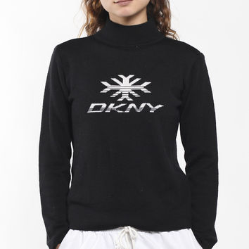 Vintage DKNY Knit Turtleneck Sweater