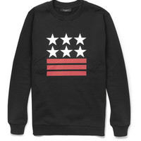 Givenchy Neoprene-Insert Printed Cotton Sweatshirt | MR PORTER