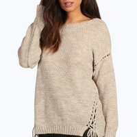 Amelia Lace Up Jumper