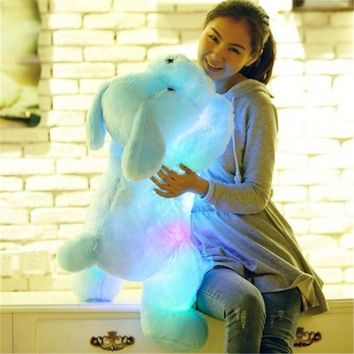 Luminous LED Dog Stuffed Animal