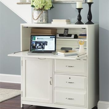 715-CC Hampton Bay Home Office-White