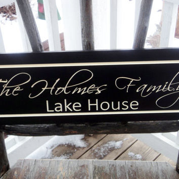 Personalized Family Name Established Sign Plaque Last Name Sign Wall Sign Carved Engraved 7x20