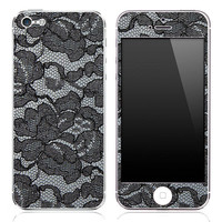 Black Lace iPhone 3g/3gs, 4/4s or 5 Skin