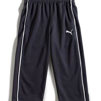 puma boys 2 7 mesh track pants with piping  number 1