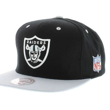 Mitchell And Ness Oakland Raiders Snapback - Team Colors The XL 2 Tone [SOLD OUT]