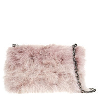 MARABOU FEATHER BAG