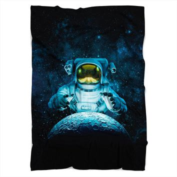 Reach For The Moon Blanket