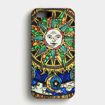 The Moon And Sun Lana Del Rey iPhone SE Case