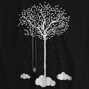 Tree Cloud Space Nature T-shirt