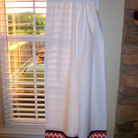 Kitchen cafe curtains - 2 panels/ Tiers - Valance sold separately / Kitchen, Laundry,Sun-room, Bedroom