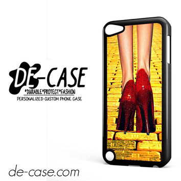Yellow Brick Road Dorothy Wizard Of Oz Inspired Cute Ruby Red DEAL-12122 Apple Phonecase Cover For Ipod Touch 5