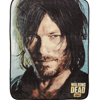 The Walking Dead Daryl Face Throw