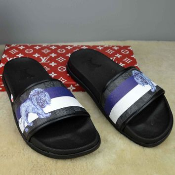 Louis Vuitton Fashion Casual Slipper Shoes-24