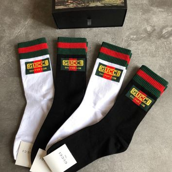 (Boxed) GUCCI Women's Gucci-Dapper Dan Web socks