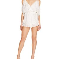 Lovers and FriendsMalia Embroidered Romper